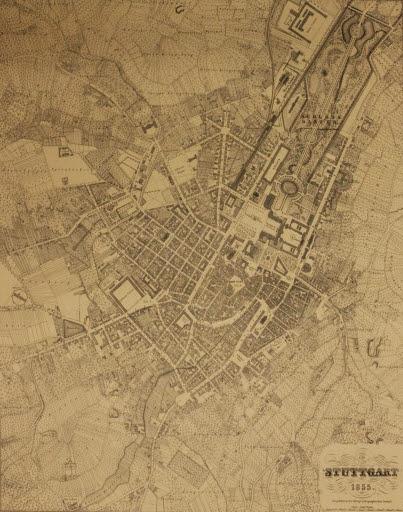 Stadtplan  Stuttgart