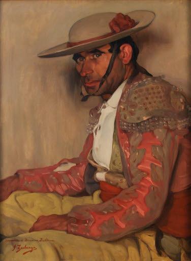 Porträt des Picador El Coriano