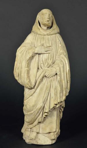 Trauernder Mönch