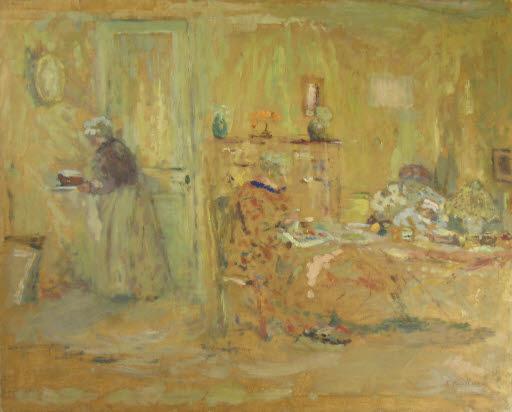 Interieur (Skizze)
