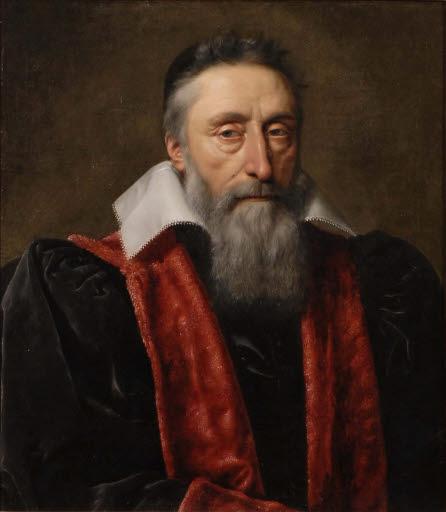 Porträt des Guillaume Du Vair (1556 - 1621)