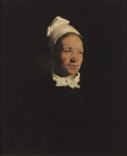 Porträt einer bretonischen Bäuerin