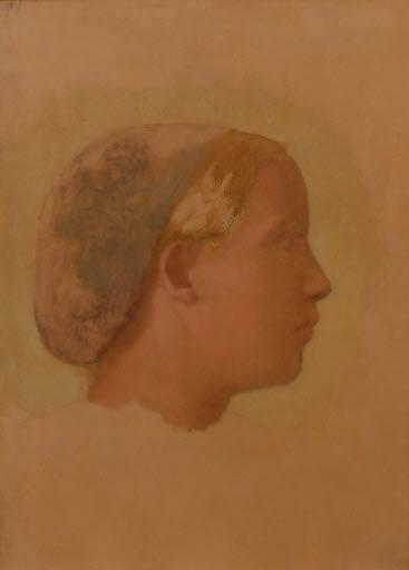 Porträt der Marguerite Degas