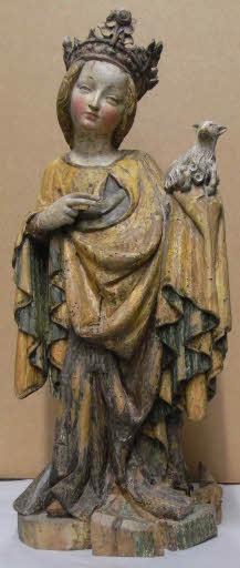 Heilige Agnes mit Lamm