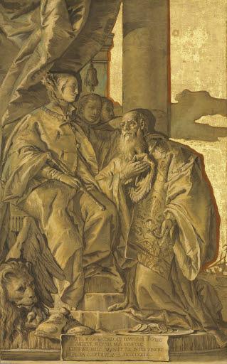 Donato Porto wird 1379 Patrizier von Venedig