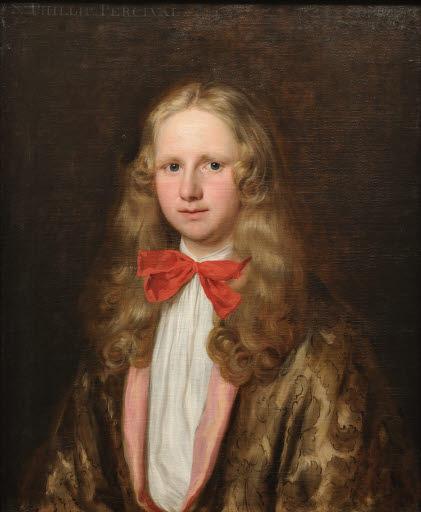 Porträt Sir Philip Perceval (1656 - 1680)