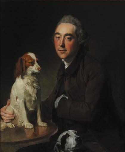 Porträt Georges Steevens (1736 - 1800)