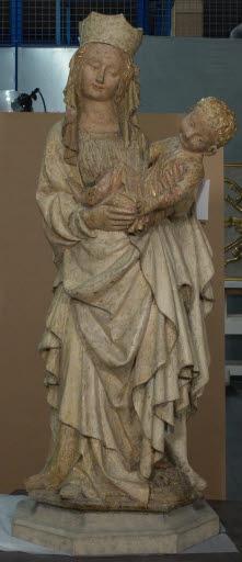 Immaculata Conceptio (Madonna mit Kind auf der Mondsichel)