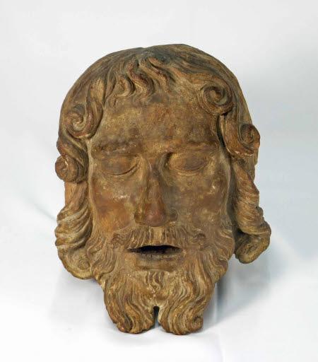 Kopf Johannes' des Täufers