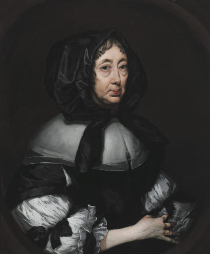 Porträt Catherine, Lady Hoby of Bisham Abbey