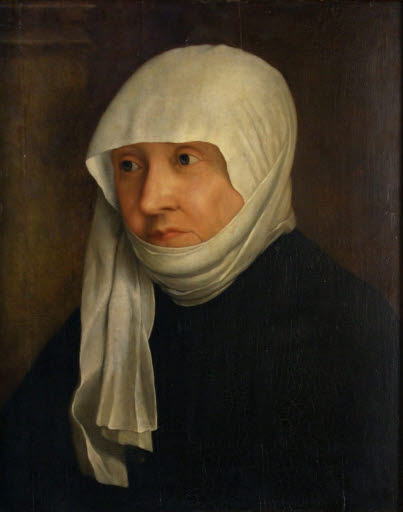 Portrait einer Frau, wohl Sabina von Bayern (1492 - 1564)