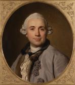 Porträt des Bildhauers Jean-Jacques Caffieri (1735 - 1792)