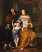 Porträt eines Paares mit Kind
