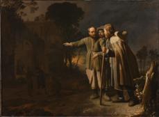 Empfang der Pilger