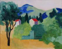 Paysage de Saint-Tropez (Landschaft bei Saint-Tropez)