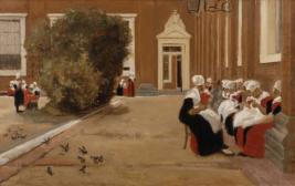 Hof des Waisenhauses in Amsterdam