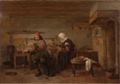Die Werkstatt eines Schuhmachers