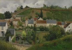 Ansicht der Hermitage, Pontoise