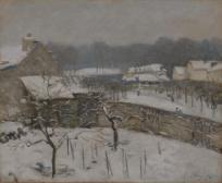 Schneestimmung in Louveciennes
