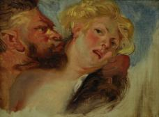 Satyr und Nymphe (nach Peter Paul Rubens)