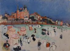 Der Strand in Sainte-Adresse