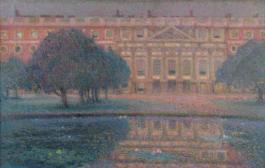 Le Palais, matin d'été (Hampton Court Palace in London an einem Sommermorgen)