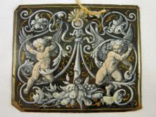 Plaque im Stil Barock