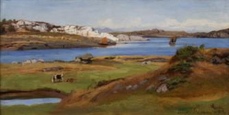 Weite Fjordlandschaft