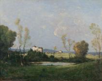 Paysage du Nivernais (Landschaft bei Nivernais)