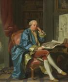 Porträt des Generals Ivan Ivanovitch Betskoi (1704 - 1795)