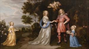 Porträt der Familie des Adriaan Pauw, Heer van Beenenbroek (1622 - 1697)