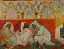 Dans un salon marocain (In einem Marokkanischen Salon)